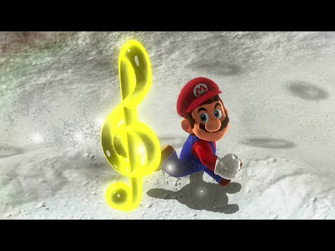 Super Mario Odyssey - All Rainbow Note Locations & Power Moons
