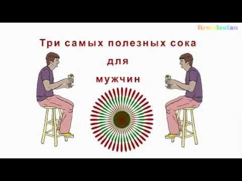 Полезные соки для мужской силы