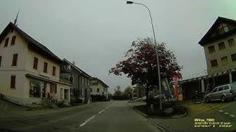 CH: Gemeinde Merenschwand. Kanton Aargau. Ortsdurchfahrt. November 2019