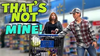 How much stuff can I sneak into their shopping carts?