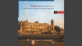 Organ Concerto No. 3 in G minor Op. 4: II. Allegro