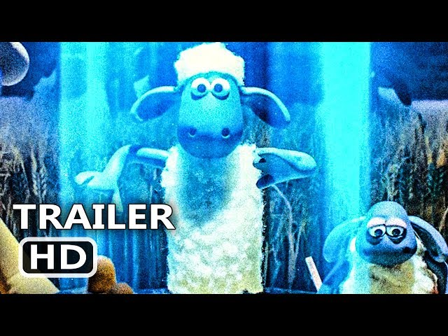 SHAUN THE SHEEP 2 Official Trailer (2019) Animation, Farmageddon Movie HD