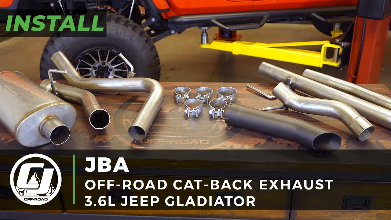 2020 Jeep Gladiator Install | JBA Off-Road Cat-Back Exhaust