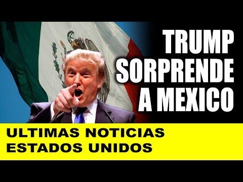 Ultimas noticias de EEUU, TRUMP NUEVO ACUERDO CON MEXICO 28/08/2018