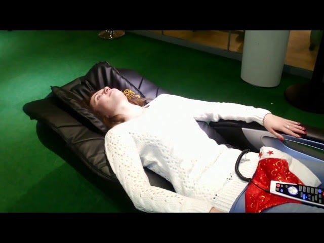 Массажное кресло Anatomico Marco видео отзыв.
