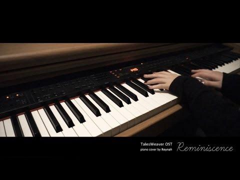 """테일즈위버 TalesWeaver OST : """"Reminiscence"""" Piano cover 피아노 커버"""