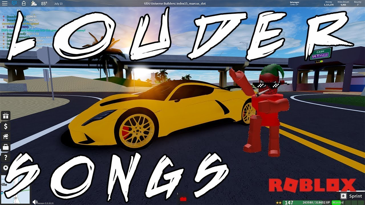 Roblox 70 Louder Songs And Audios Ids 2019 October Youtube