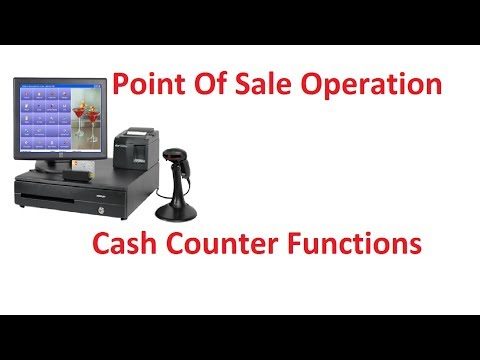 Retail Soft POS Operations / Cash Counter Activity