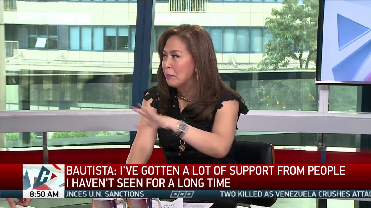 Tearful Patricia Bautista 'overwhelmed' by support