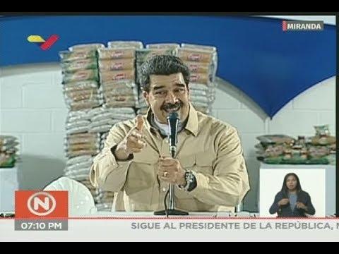 Presidente Maduro: ¡Los precios acordados se dispararon por falta de gobierno! Ordena retomarlos