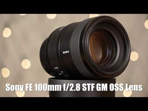 Sony FE 100mm f/2.8 STF GM OSS Lens - Lab Photo Testing