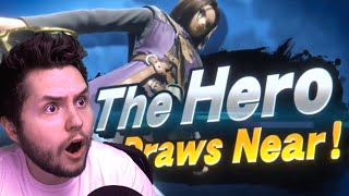 Reaction: The Hero from Dragon Quest in Smash Bros Ultimate!