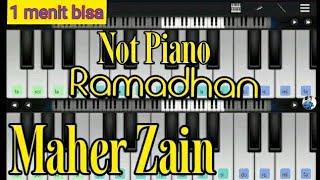 Ramadan Maher Zain perfect piano cover