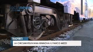 Trasporti- La Circumvesuviana rinnova il parco mezzi