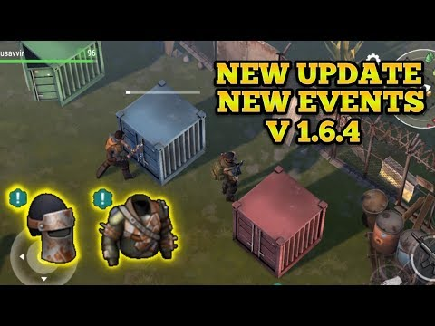 NEW SMUGGLERS CAMP EVENT, NEW UPDATE V1.6.4 | LAST DAY ON EARTH : SURVIVAL