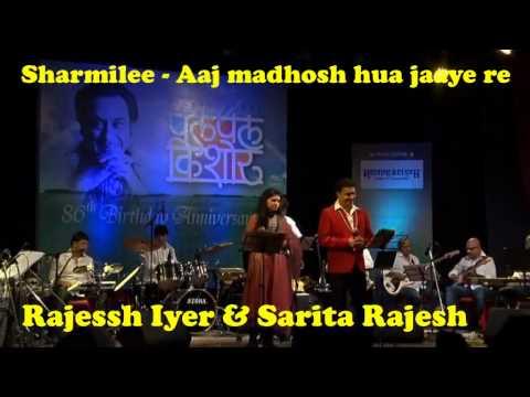 Aaj Madhosh Hua Jaye Re Lyrics Translation | Sharmilee ...