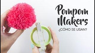 Como hacer  pompones lana - Pom Pom Maker