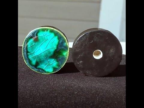pair---peackock-green-galaxy-glass-ear-plugs-gauges-4mm---32mm