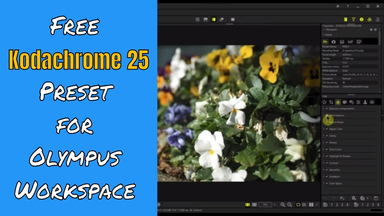 How to Dial in Kodachrome Film Simulation + Free Downloads ep 143