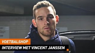 Voetbalshop | Interview met Nederlands Elftal spits Vincent Janssen