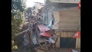 Surat: Balcony of 25-year-old building collapses