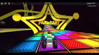 N64 MK8 Rainbow Road - Roblox