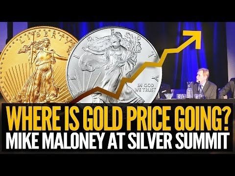Gold Price Going Where? - Mike Maloney At Silver Summit