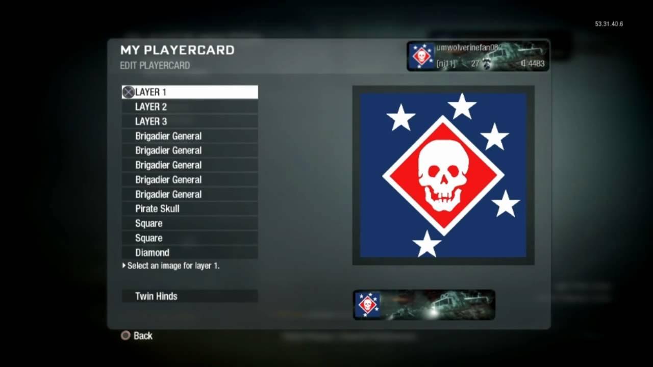 Black Ops - Custom Emblems | Tutorial: Marine Raiders ...