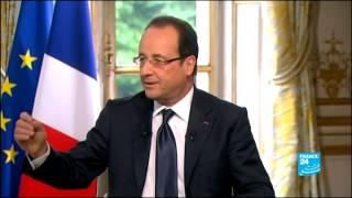 حوار حصري مع الرئيس الفرنسي فرانسوا هولاند (الجزء الأول)