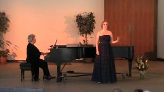 Johanna Hilfiker Senior Voice Recital - Christopher Robin is Saying His Prayers - Milne Pt 7