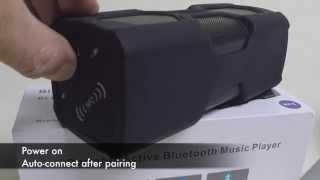 PT-390A - Portable Outdoor Bluetooth V4.0 Speaker 2 x 5W