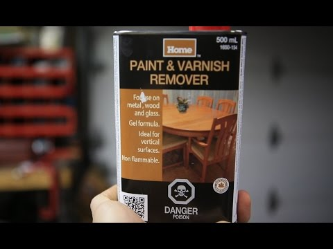 How To Separate Dichloromethane (DCM, Methylene Chloride) From Paint Remover