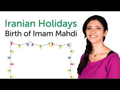 Learn Iranian Holidays - Birth of Imam Mahdi