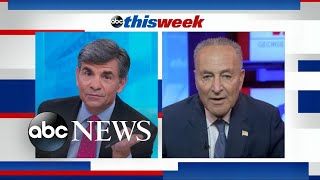 Trump's executive actions 'unworkable, weak and far too narrow': Schumer | ABC News