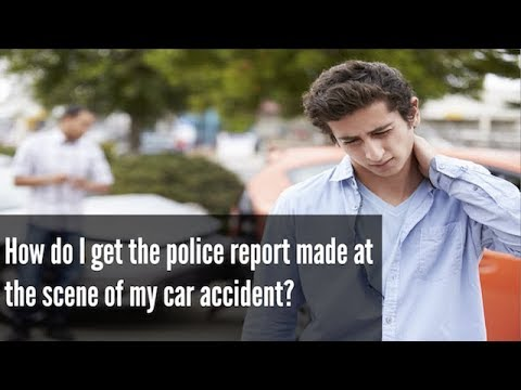 How to Get a Car Accident Police Report