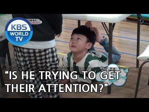 """""""Is Sian trying to get their attention??""""  [The Return of Superman/2019.01.06]"""