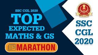 Top Expected MATHS & GS Questions | SSC CGL 2020 Marathon | Race SSC Focus Team