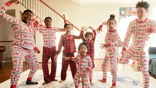 CHRISTMAS DANCE BATTLE WHILE PREGNANT!