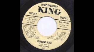 JACK DUPREE - STUMBLING BLOCK - KING