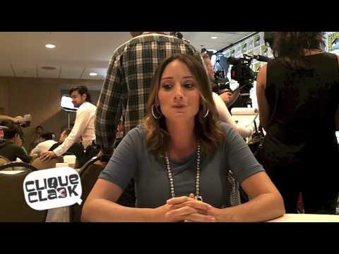 Grimm's Bree Turner @ 2012 SDCC
