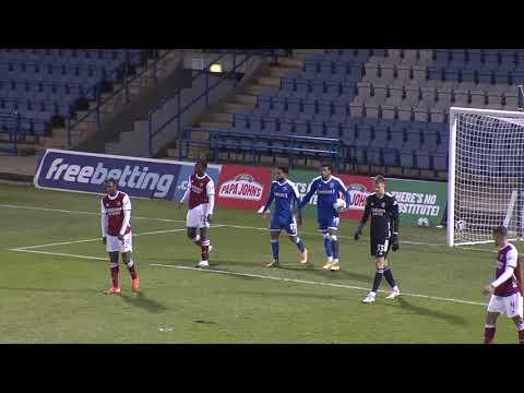 Gillingham Arsenal U-21 Match Highlights