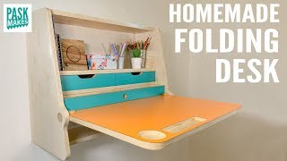 Homemade Folding Desk