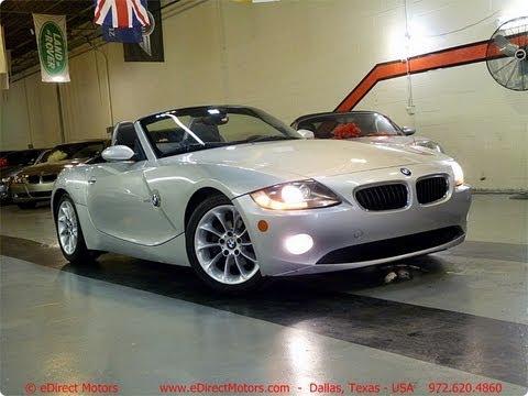 2005 Bmw Z4 Edirect Motors Youtube