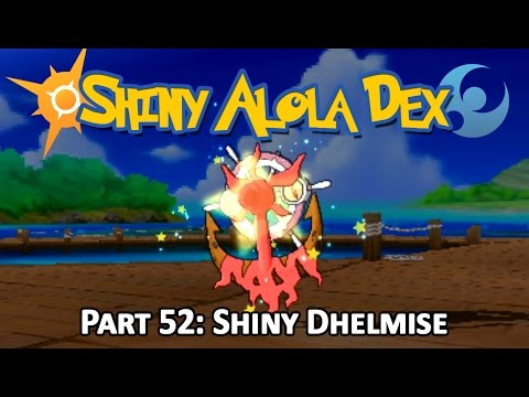 [LIVE!] Shiny Dhelmise after an EPIC 803 SOS Chain in Seafolk Village! (Stream Highlight)