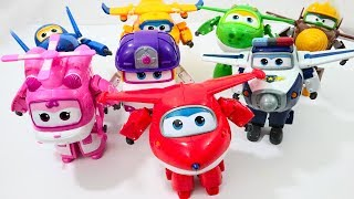 New Super Wings Robot Transformer Surprise Toys JETT MIRA DONNIE TODD DIZZY PAUL JEROME CHASE