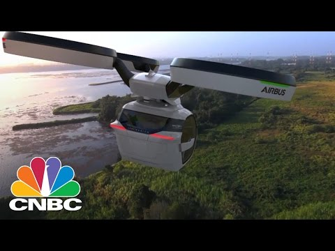 Airbus' New Flying Car Concept Aims To Eliminate Traffic Forever | CNBC
