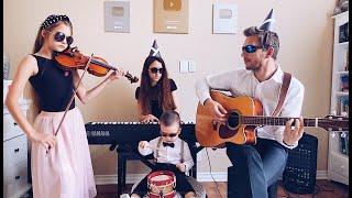 Coffin Dance - Family Performance - Violin, Piano, Guitar