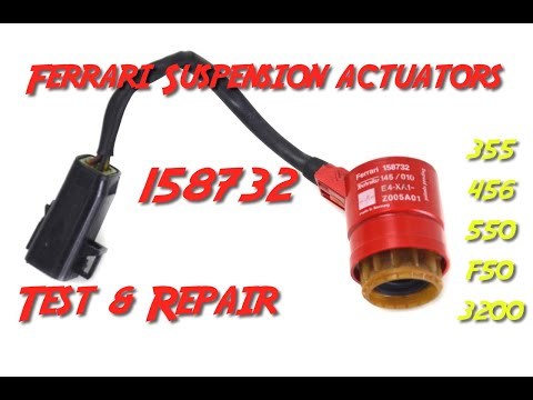 Ferrari 158732 shock suspension actuator test & repair