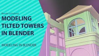 blender 2 8 free training series making fortnite tilted towers part 2