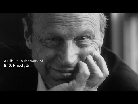 A tribute to the work of E. D. Hirsch, Jr.